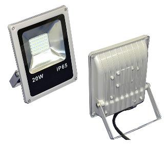 Светодиодный  прожектор 20W серии «SLIM» (SMD диоды)